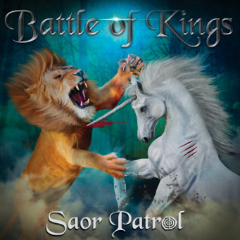 Battle of Kings - Saor Patrol - CD Cover.