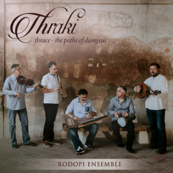 Thraki - Traditional Dances & Songs from Thrace - Rodopi Ensemble -  CD Cover.
