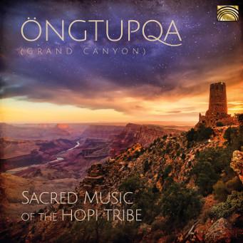 Öngtupqa – Sacred Music of the Hopi Tribe - CD Cover.