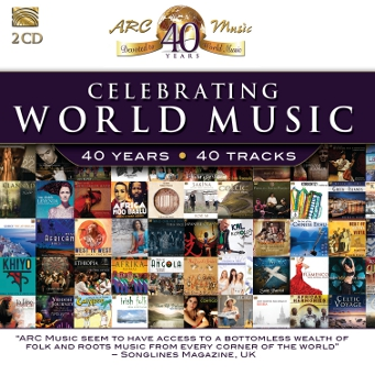 EUCD8017 Celebrating World Music 40 Years 40 Tracks