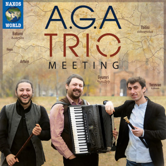 A.G.A Trio - Meeting - CD Cover.