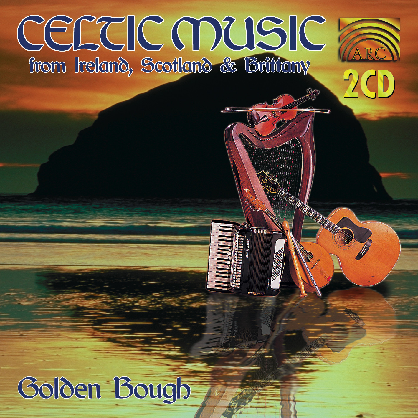 EUCD1458 Celtic Music from Ireland, Scotland & Brittany