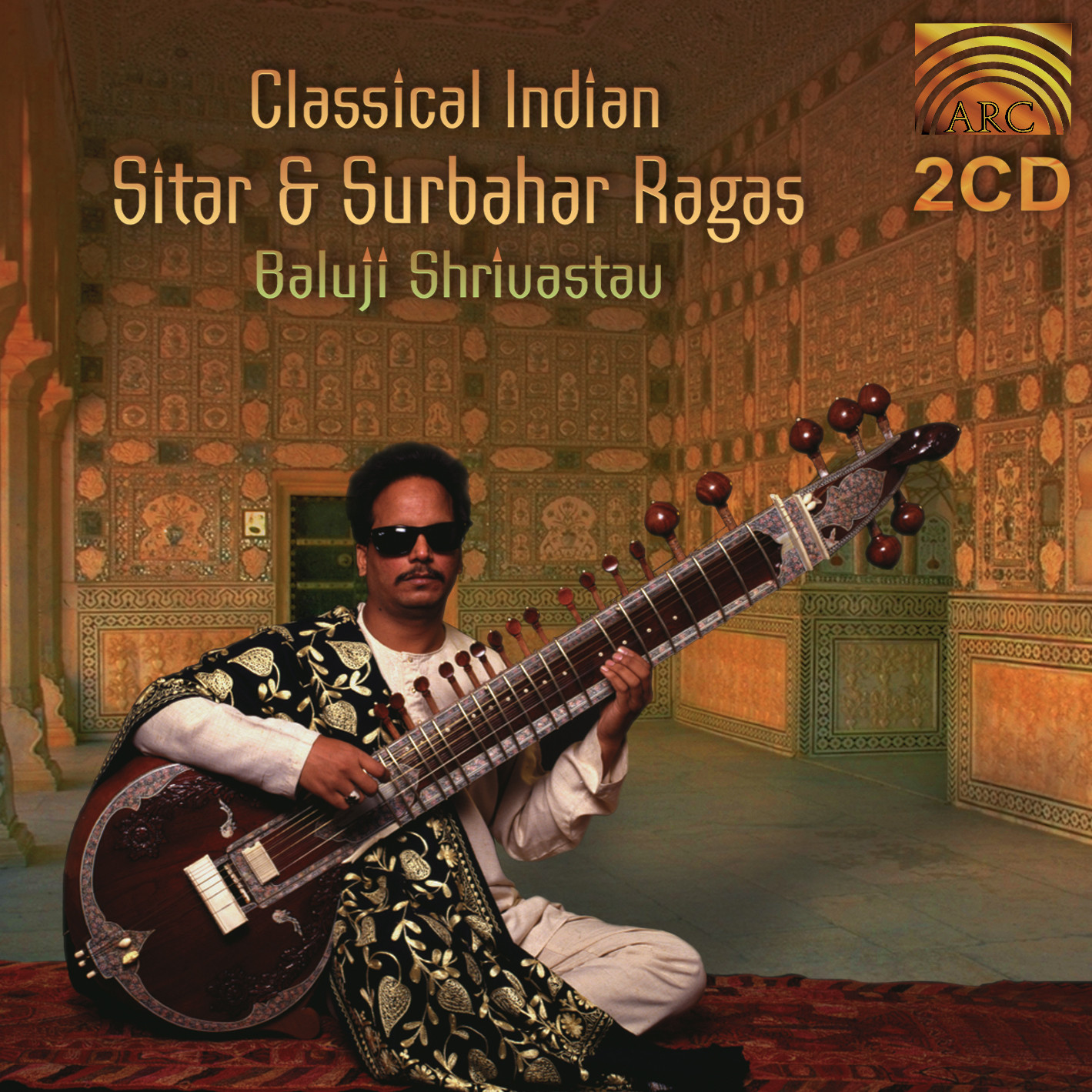EUCD1572 Classical Indian Sitar & Surbahar Ragas