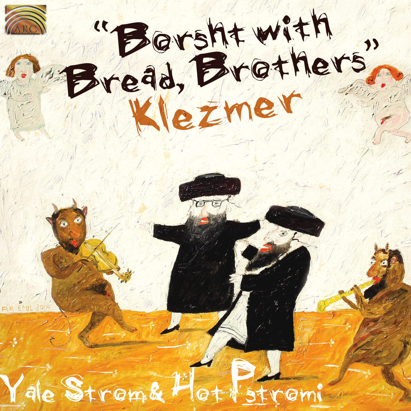 EUCD2102 Borsht with Bread, Brothers - Klezmer