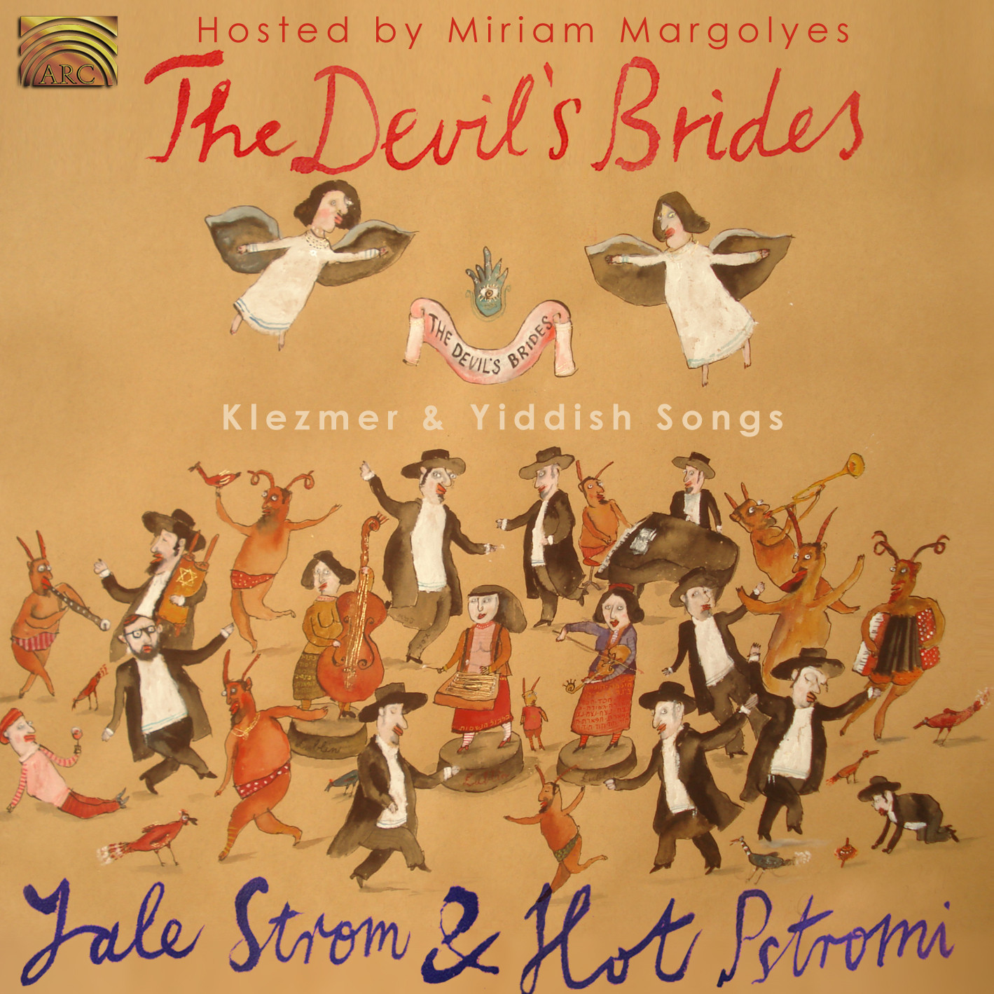 EUCD2345 The Devil's Brides - Klezmer & Yiddish Songs