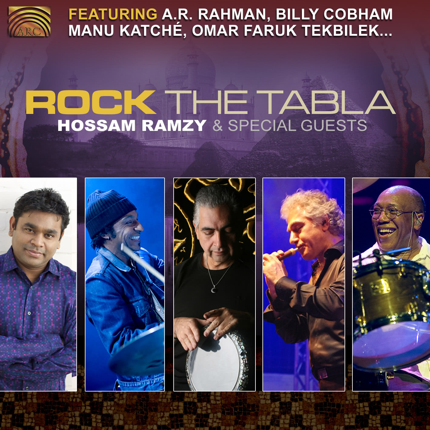 EUCD2349 Rock the Tabla - featuring A.R. Rahman, Billy Cobham, Manu Katché, Omar Faruk Tekbilek…