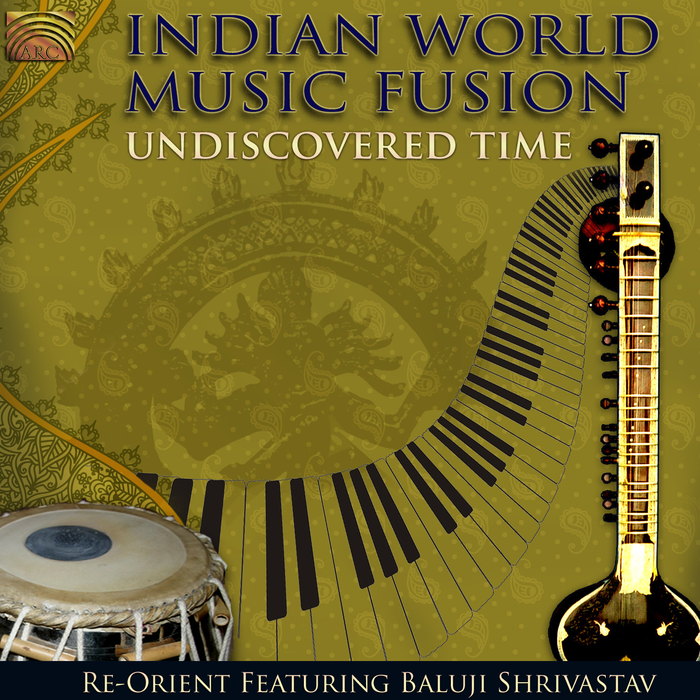 EUCD2371 Indian World Music Fusion - Undiscovered Time