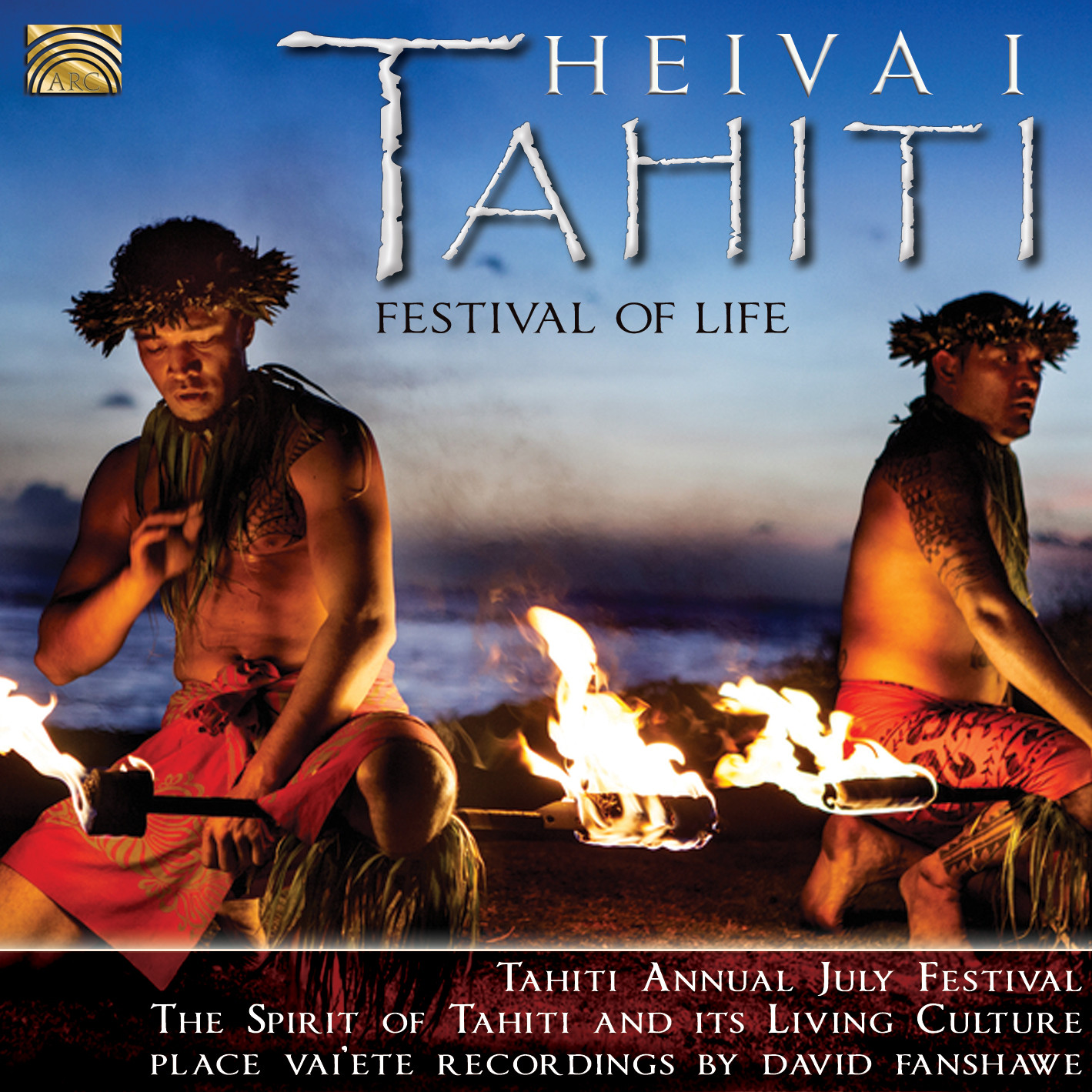 EUCD2503 Heiva i Tahiti - Festival of Life - recordings by David Fanshawe