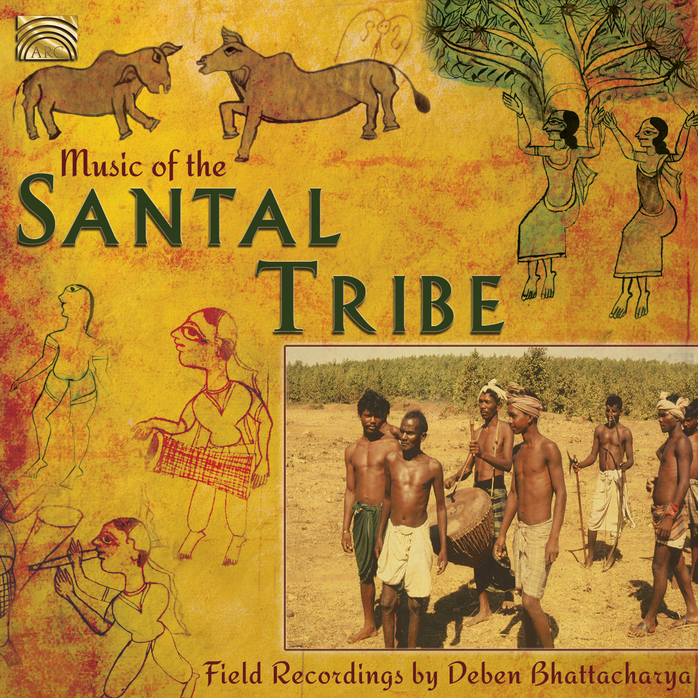 EUCD2510 Music of the Santal Tribe - Field Recordings by Deben Bhattacharya