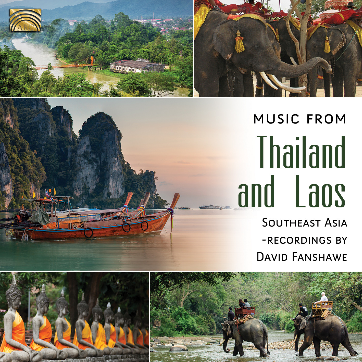 EUCD2588 Music from Thailand and Laos - Southeast Asia - recordings by David Fanshawe