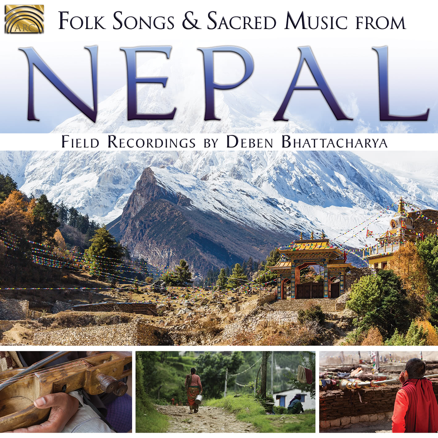 EUCD2711 Folksongs & Sacred Music from Nepal
