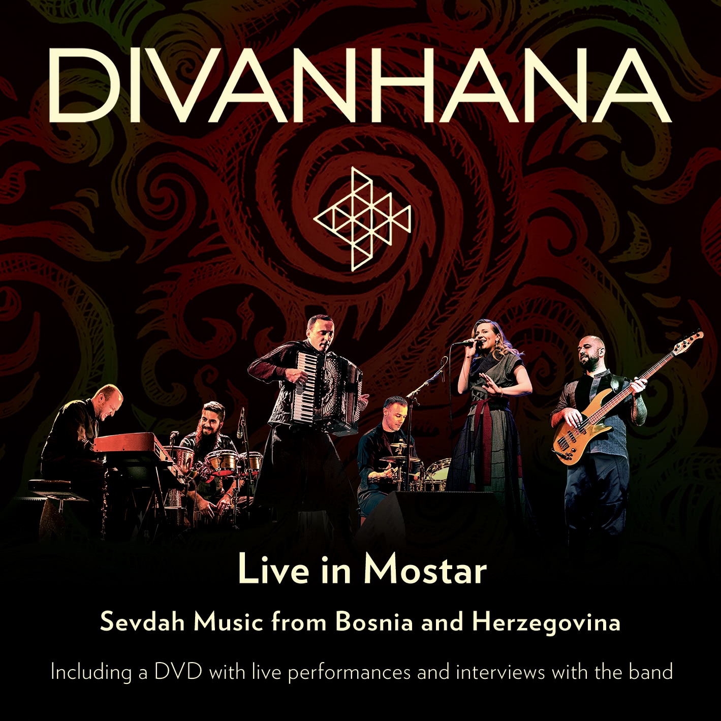 EUCD2722 Divanhana Live in Mostar - Sevdah Music from Bosnia and Herzegovina