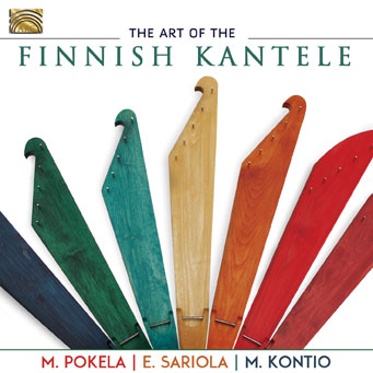 The Art of the Finnish Kantele - Martti Pokela, Eeva-Leena Sariola, Matti Kontio