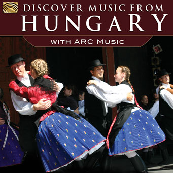 EUCD2603 Discover Music from Hungary - with ARC Music