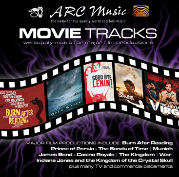 ARC Music Movie tracks Sampler Cover Image