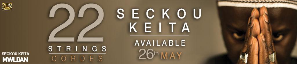 Seckou Keita's New Solo Album: 22 Strings banner