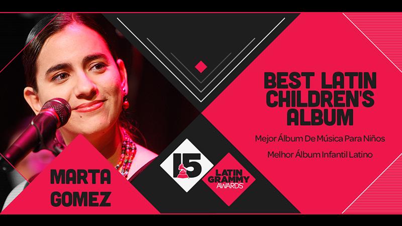Marta Gomez Latin Grammy Award