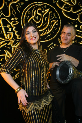 Hossam and Serena Ramzy