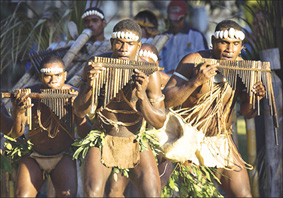 Narasirato Pan Pipers from the South Pacific