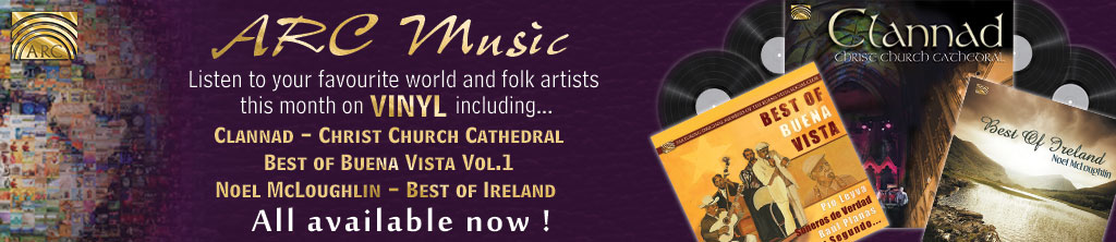 ARC Music New vinyl LP releases Banner